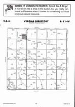 Verona Township, Prosser, Directory Map, Adams County 2007
